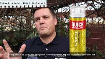 MANGE BRUKSOMRÅDER: – Avfettingen kan brukes til alt fra avfetting av metaller, fettfilteret til kjøkkenviften, sier Thomas Løvald.