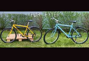 Her ser du hvordan du lakkerer sykkelen din steg for steg.