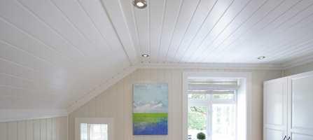 Smartpanel Tak kan fint festes over gammelt takpanel.