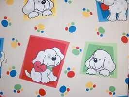 Til barnerommet er det spesielt viktig med lystette gardiner. Avbildet blendingstekstil som føres som metervare hos Borge.