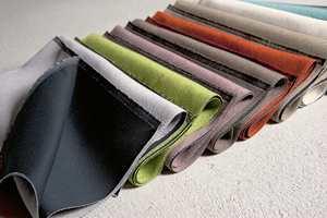 Fargevalget er stort selv om man velger lystette tekstiler (Intag).
