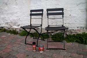 Stolene er rustfrie og freshe, og kommer til å leve lenge.
