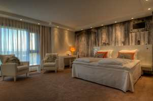Mange lar seg inspirere av hotellrom når de skal innrede soverommet.