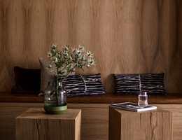 <b>SPAFARGE: </b>Hotellet The Thief ligger på Tjuvholmen i Oslo og er kåret til Norges beste hotell av Trip Advisors brukere, og eneste norske medlem av Design Hotels. Anleggets spa er moderne innredet med farger inspirert av norsk natur. (Foto: The Thief)