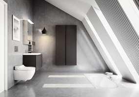 <b>DUSJDO:</b> Med dusjtoalett blir du vasket ren av en behagelig vannstråle. – Dusjtoaletter gir deg en spaopplevelse og følelse av luksus, sier Wenche Sydhagen hos Geberit.