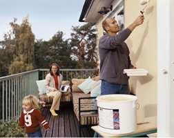 Får du maling over etter et utendørs prosjekt - spar på den!