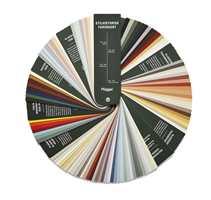 I Stilhistorisk fargekart finnes farger både for utendørs og innendørs miljøer.