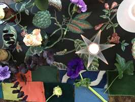 Finn Schjøll kan mer enn blomster. Han er også opptatt av interiør, og som aktiv oppusser deler han gjerne noen tips til valg av farger.