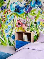 Teppe og tapet fra kolleksjonen EDDA, Storeys og InHouse. Styling: Christine Herra.