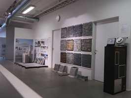 <b>OASE:</b> Norfloors butikk fremstår som en oase for inspirasjon blant naturlige materialer.