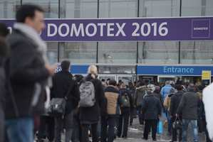 «Domotex» er messen som samler hele verdens gulvbransje. Hvert år åpner dørene i messebyen Hannover i Tyskland.