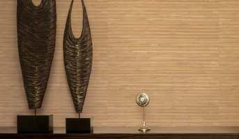 <b>NATURLIG:</b> Mønster og farger som japansk strietapet. Serendipity. (Foto: Fantasi Interiør)