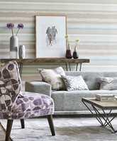 <b>MYKT:</b> Delikate, rolige farger, med mønster som akvarellmaling. Harlequin Entity. (Foto: Tapethuset)