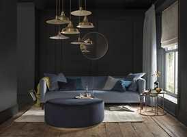 <b>MAGEFØLELSEN:</b> Det å innrede hjemmet er en følelsesladet oppgave. Stol på din egen følelse av hva du liker. Her er tekstiler fra kolleksjonen Renzo fra Borge.