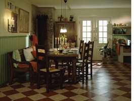 Her skal det leves, nytes og brukes og ikke stå på stas. Et rustikk bondekjøkken ispedd franske fornemmelser.