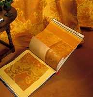 Tapetbok er brukt som hjelpemiddel for valg av farger, tekstiler og tapet.