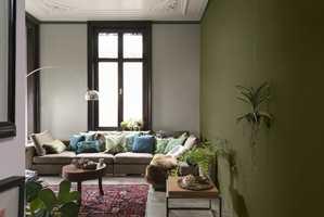 <b>ARMSLAG:</b> Rydd rommet slik at du får god plass til å male uten uhell. Foto: Nordsjö