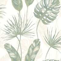 Fantasi Interiør har flere kolleksjoner med grønne blader. Denne er fra Arcadia.