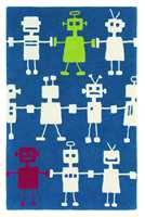 Reggie Robot: En datamaskin stilet karakter, opplyst med sporadiske farger.