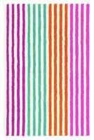 Boogie Woogie: Et oppløftende stripe i stripe mønster i en strålende fargepallett.