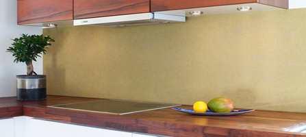 En fargeklatt over kjøkkenbenken! Og jobben er gjort i en fei!
