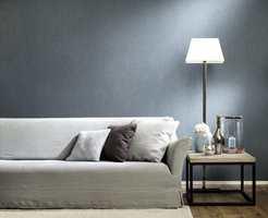 <b>LUNE ROM:</b> Tapet på vegen gir lunhet og varme til rommet. – Spør eksperter om råd før du velger farge og mønster, sier Arve Konglevokk hos Green Apple.