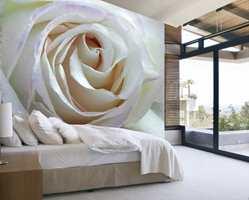 Fototapet er et tidløst alternativ som også gjør at rommet virker større. Denne varianten er fra Green Apple.
