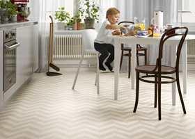 Design og funksjonalitet kombineres elegant i Tarketts banevarekolleksjoner Trend og Extra, som er tilført en rekke nye gulvdesign.
