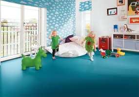 I Tarketts Trendkolleksjon er det friske farger for barnerommet.