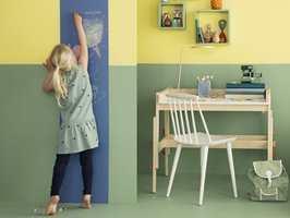 Tavlemaling er perfekt for minstemann som vil få utløp for kreativiteten!