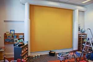 <b> HERDETID: </b>Den malte flaten er støvtørr etter en time og overmalbar etter to. Malingen må herde i minimum 7 dager før kritt brukes på tavlen.