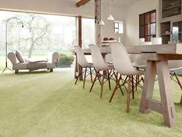 Teppe er et stemningsskapende gulvmateriale med gode lydegenskaper.
