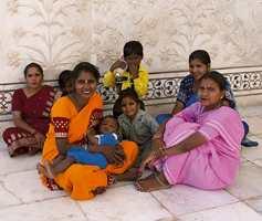 Farger er en spesialitet i India.