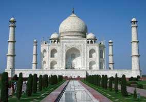 Kontrastenes land. Her Taj Mahal i Agra.