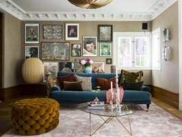 <b>SKIMMER:</b> Teppet med velurgarn har fin glans som skifter med garnretning og lysinnfall og gir et livfullt uttrykk.