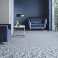<b>ALLE BEHOV:</b> Velg teppe etter hvor hard bruk det skal tåle, og du vil være fornøyd med teppet i mange år. Teppet her fra Danfloor er laget av blant annet gamle fiskegarn og tåler hard bruk. (Foto: Danfloor)