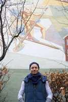 Malermester Terja Kaasa har lenge hatt en samarbeid med Freia.