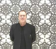 Designsjef Bjørn Nilsson i Boråstapeter tror sort-hvitt-trenden med alle gråtoner kommer til å vedvare som en basetrend.