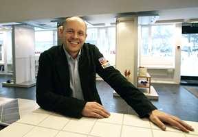 Jörn Helseth Laasonen er ny butikksjef i Brobekkveien.