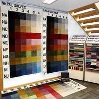 Et teppekonsept fra Gulvex hvor du kan velge farge og størrelse på teppe som bestillingsvare.