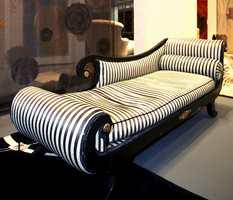 Striper i sort/hvitt.