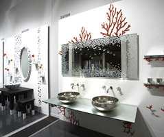 Ett helt baderomsprosjekt med moderne design. (Fra italienske Viva og FagFlis.)