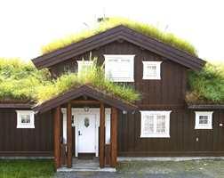 En stadig forbedret standard forandrer ikke nødvendigvis på gamle norske tradisjoner - som gress på taket.