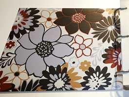 Trend på vegg, trend på gulv akkurat nå - store ornamenter, som blomster. (Fra Tarkett)