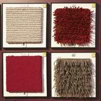 Et eksempel på hvordan de forskjellige veveteknikker gir store utslag på teppekvaliteten.