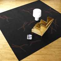 Fargene i Dancers-seriene er mange - her en helt mørk variant i avpasset teppe.