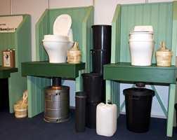 Komfort på hytte betyr orden på de sanitære forhold.