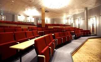 Auditoriet med plass til 270 deltakere.