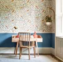 <b>MODERNE:</b> Mønstre og farger signert Morris kler de fleste stilretninger og er et godt utgangspunkt for å skape et personlig interiør.