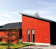 <b>RØDT:</b> Rødt kler de fleste hus, og passer i by og bygd.